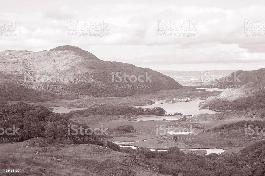 Ladies View, Killarney National Park; County Kerry; Ireland stock photo