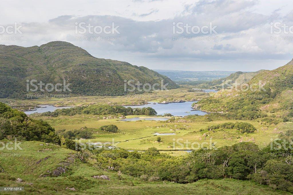 'Ladies View', Killarney National Park, Kerry, Ireland stock photo