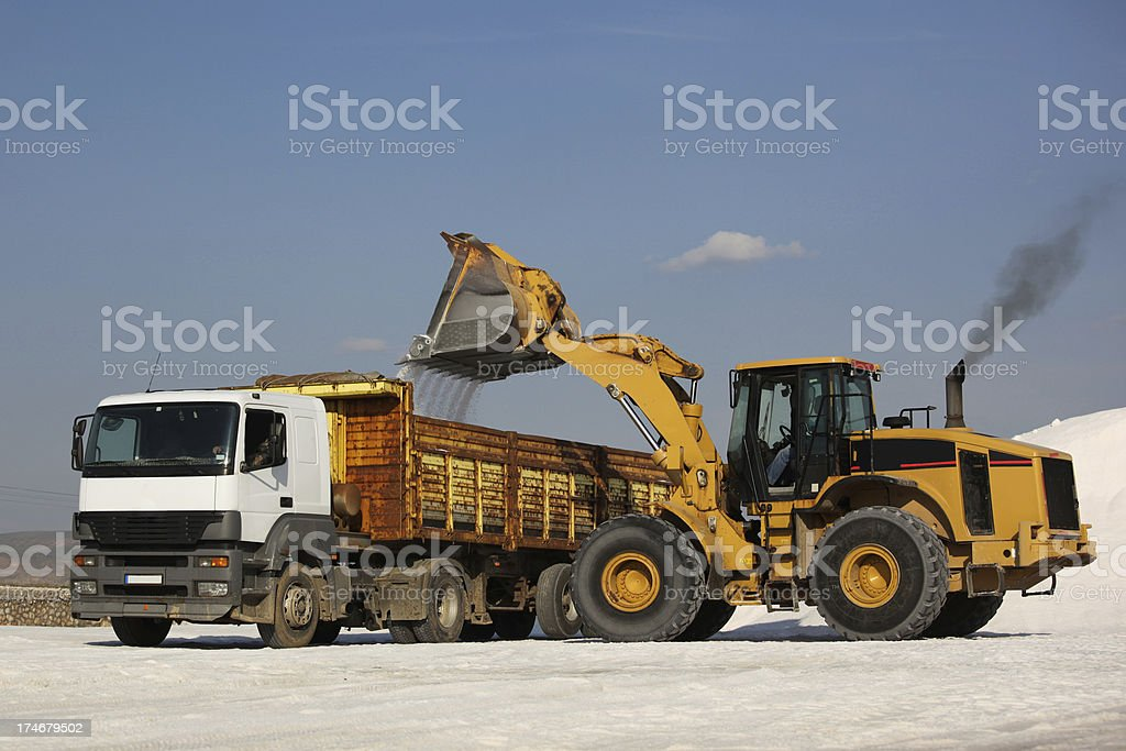 Ladle and Lorry royalty-free stock photo
