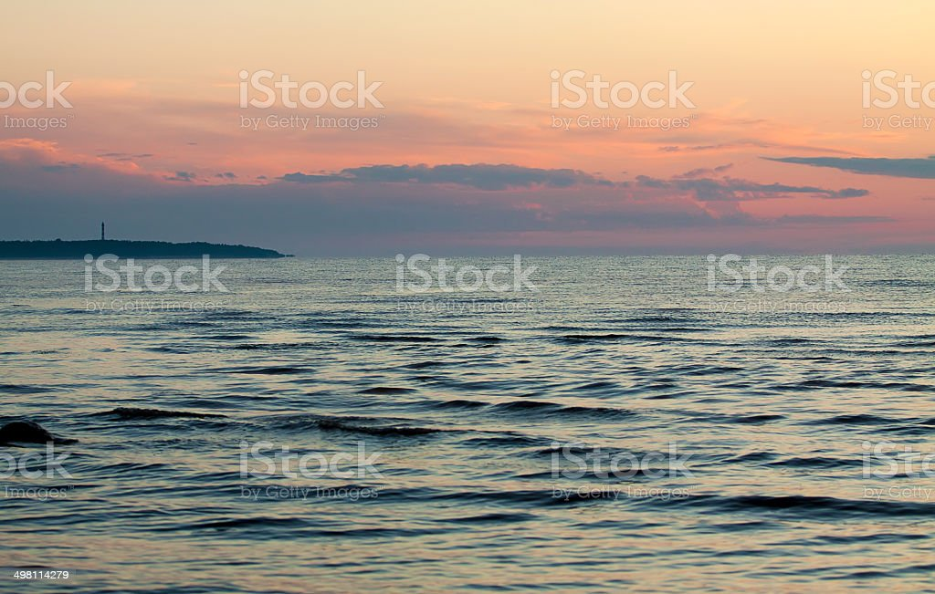 Ladoga Lake royalty-free stock photo