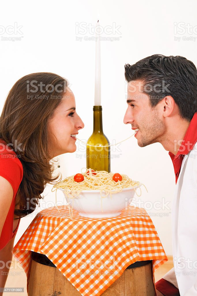 lady and the tramp royalty-free stock photo