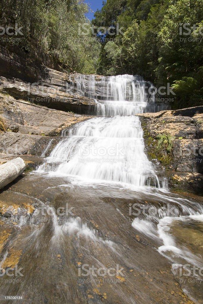 Lady Barron Falls royalty-free stock photo