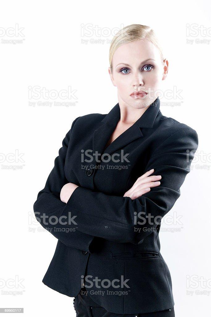 Lady Boss royalty-free stock photo