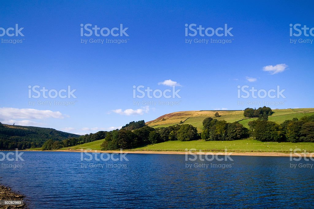 Lady bower reservoir stock photo