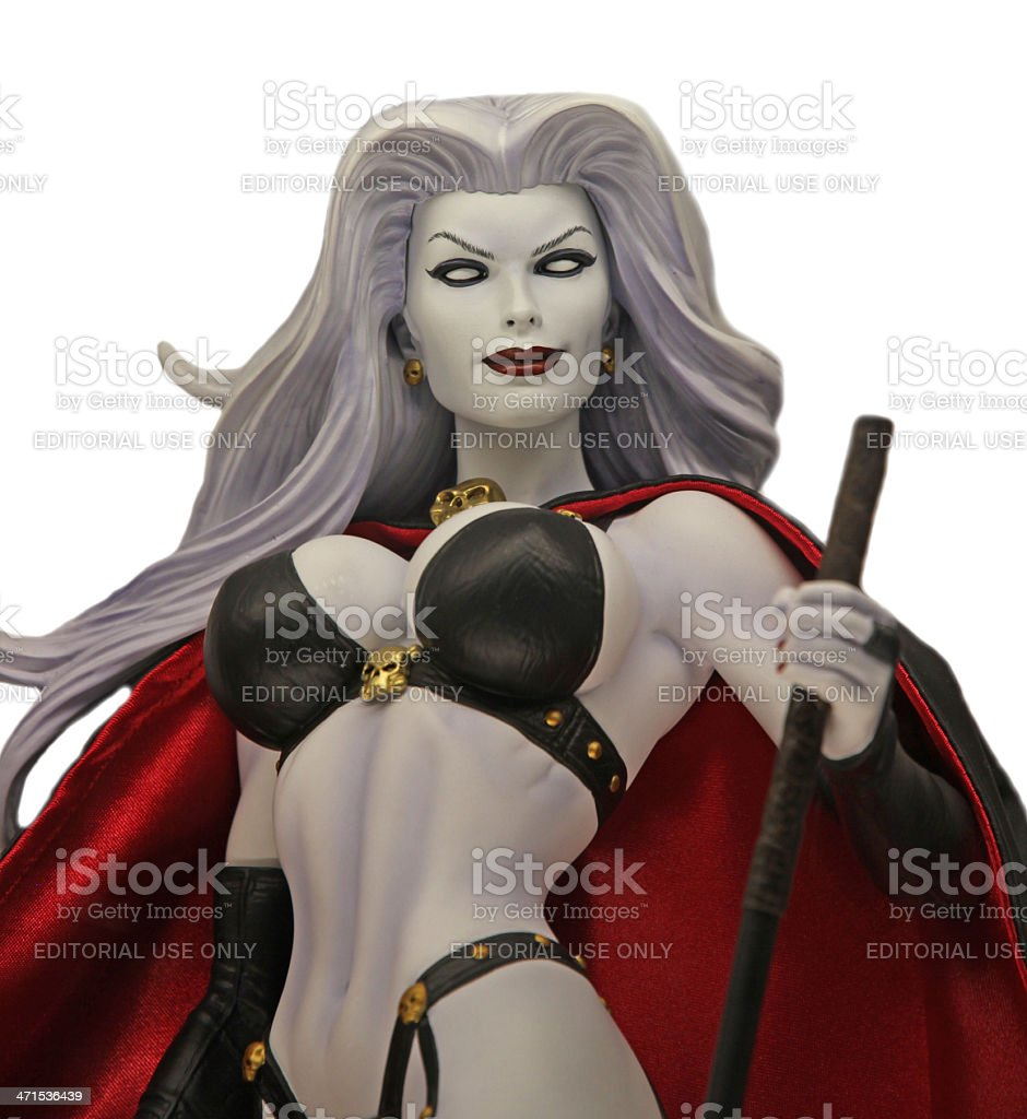 Lady Death royalty-free stock photo