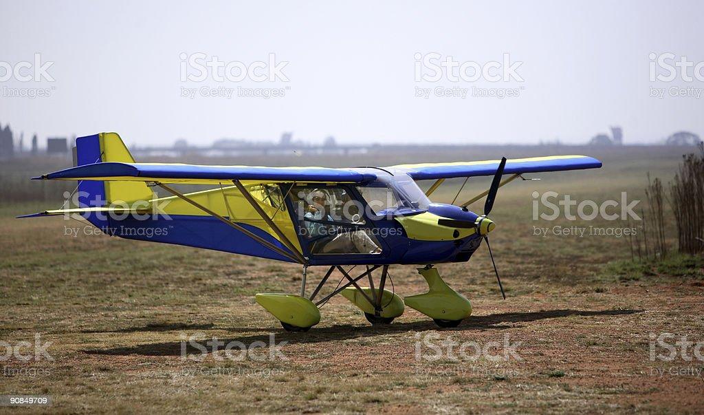 Lady Flying stock photo