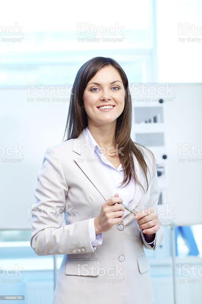 Lady in formalwear royalty-free stock photo