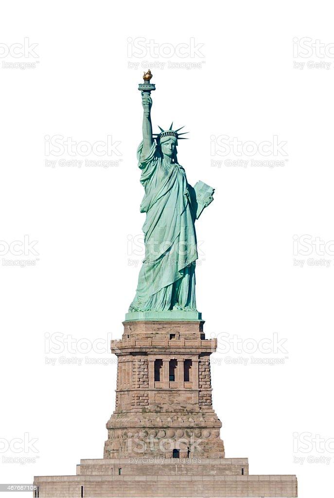 Lady Liberty, New York City, USA stock photo