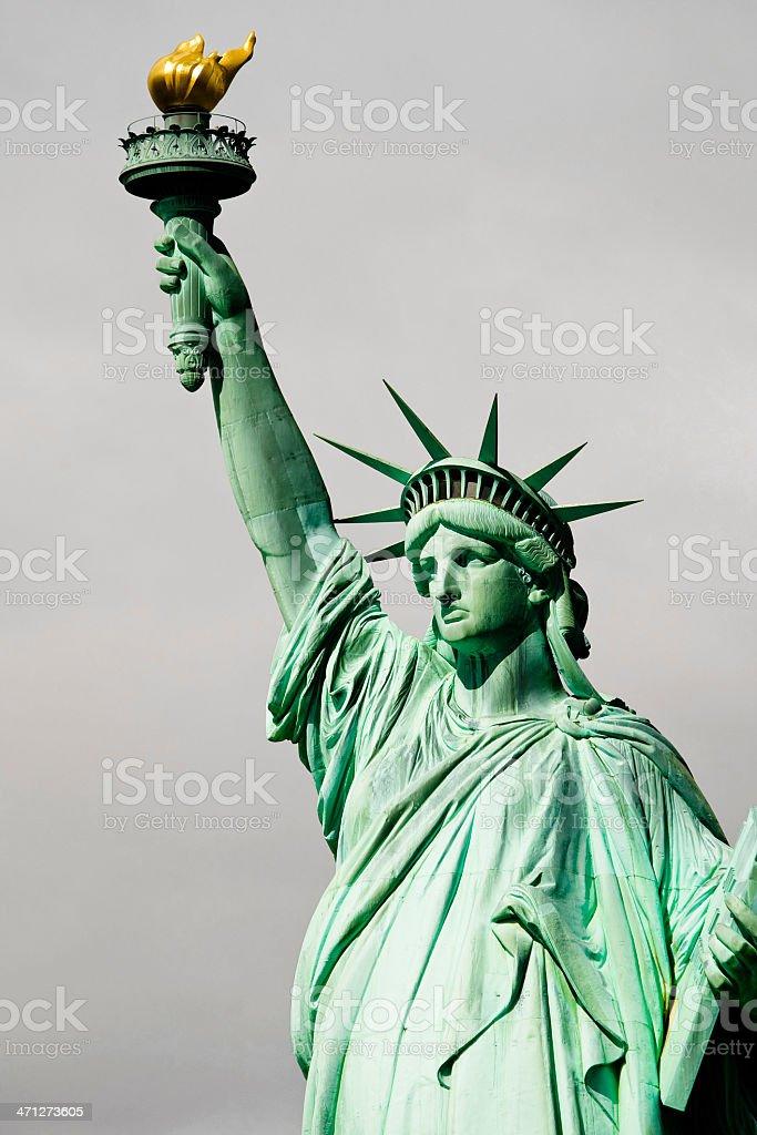 Lady liberty foto de stock libre de derechos