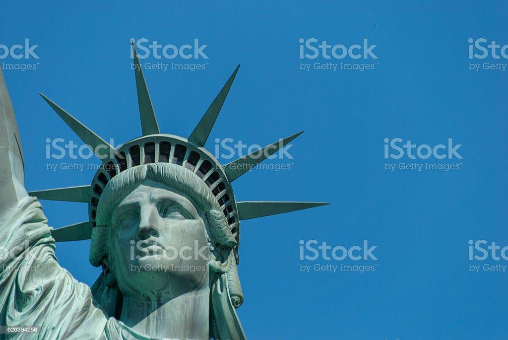 Lady liberty royalty-free stock photo