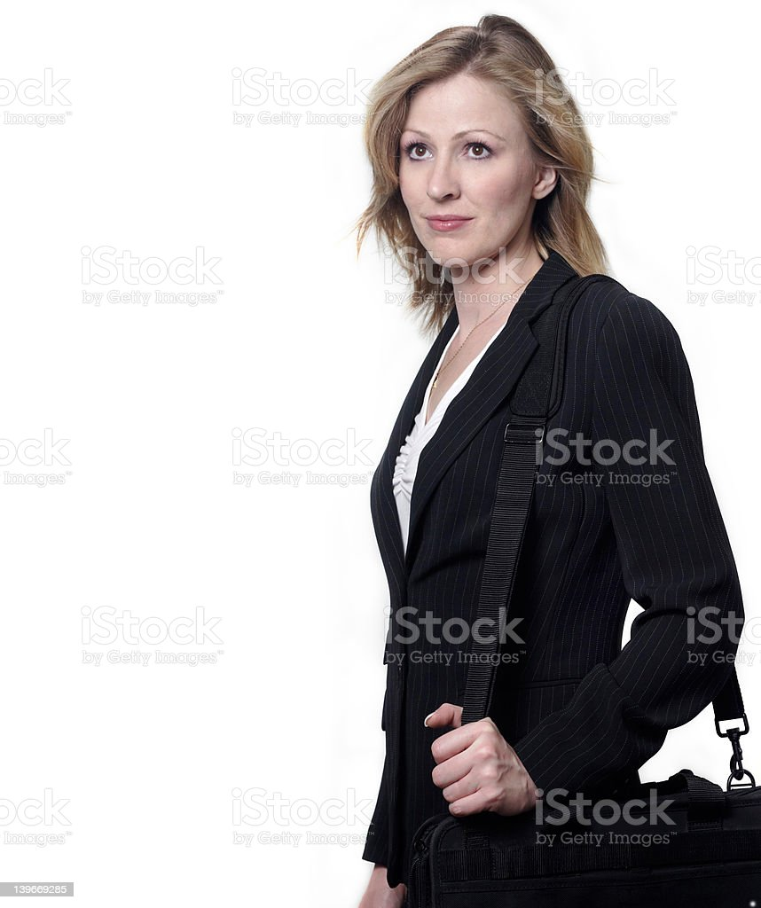 Lady litigator stock photo