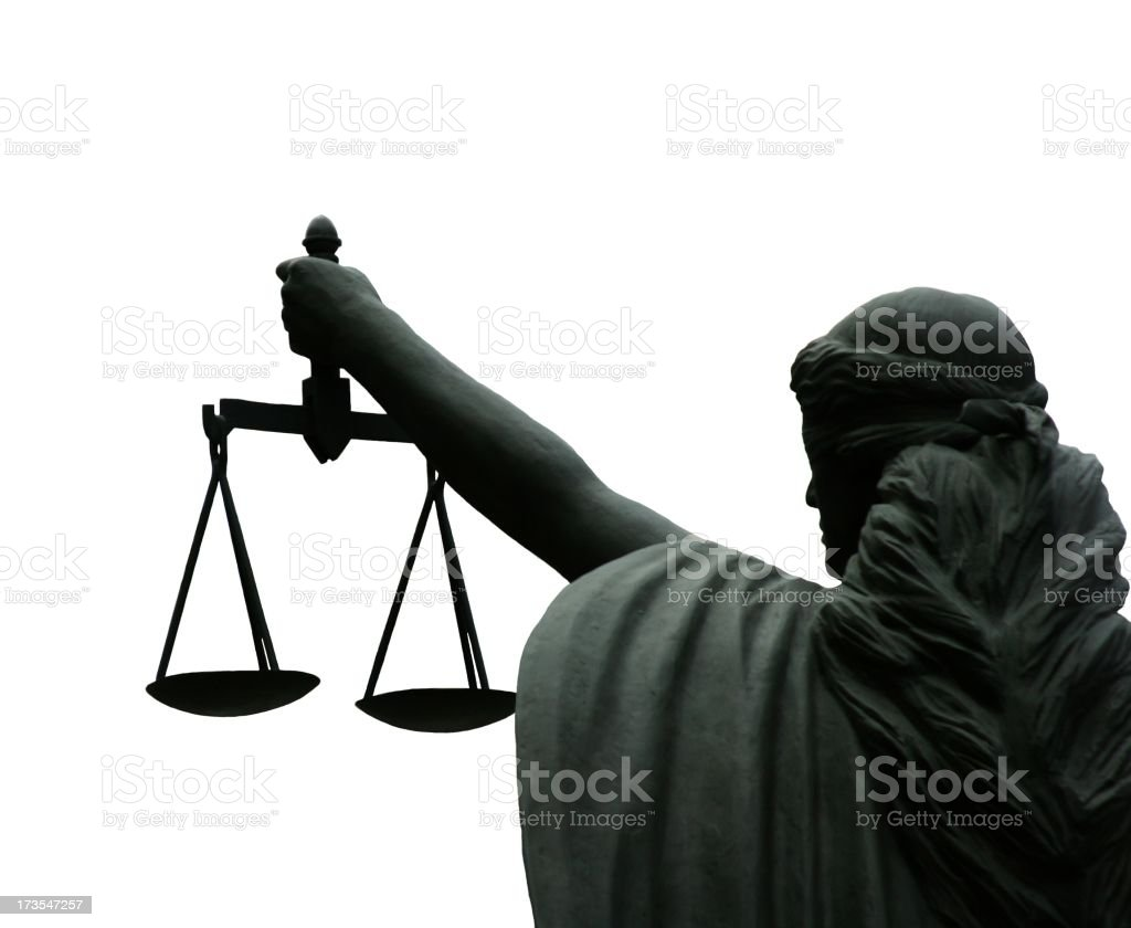 Lady Of Law And Justice royalty-free stock photo