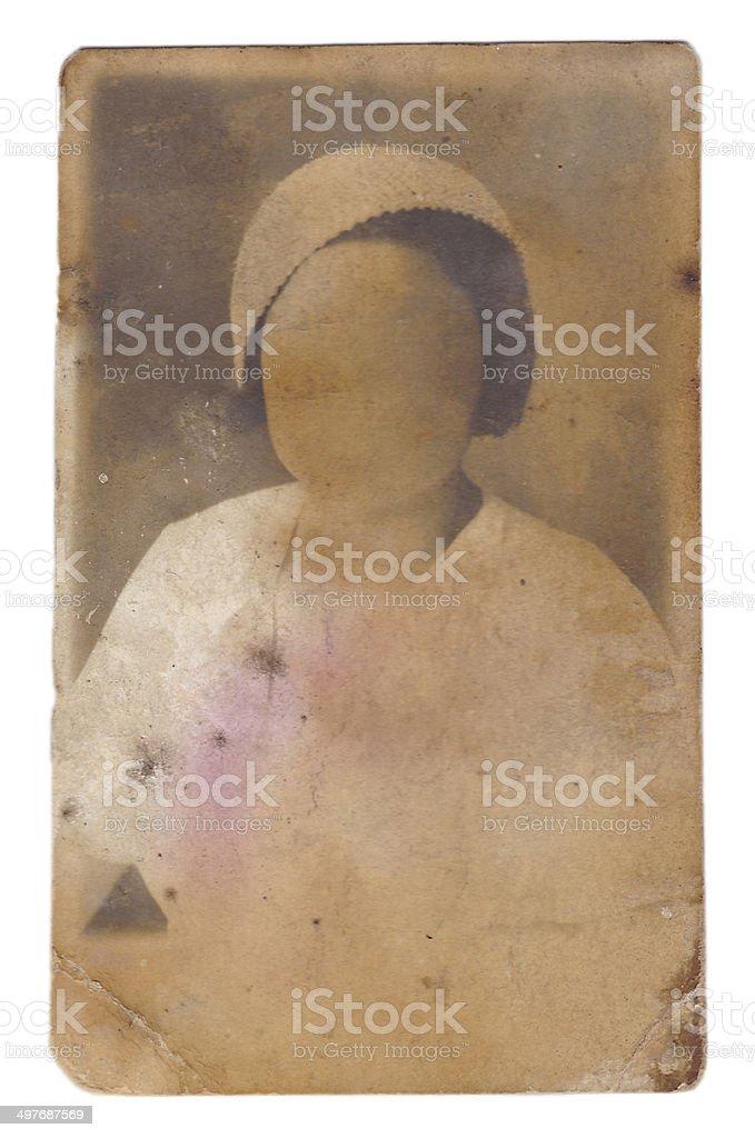 lady photograph. stock photo