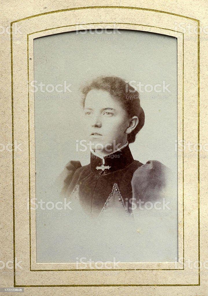 Lady royalty-free stock photo