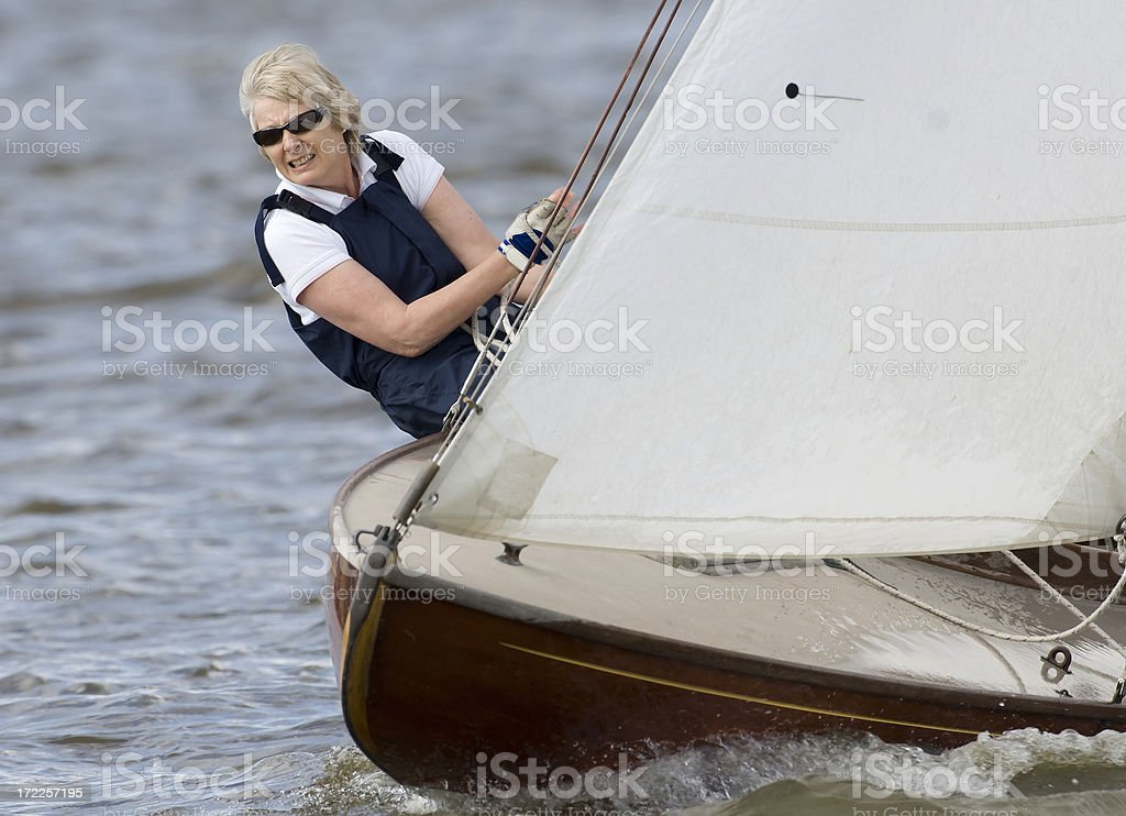 Lady Sailor royalty-free stock photo
