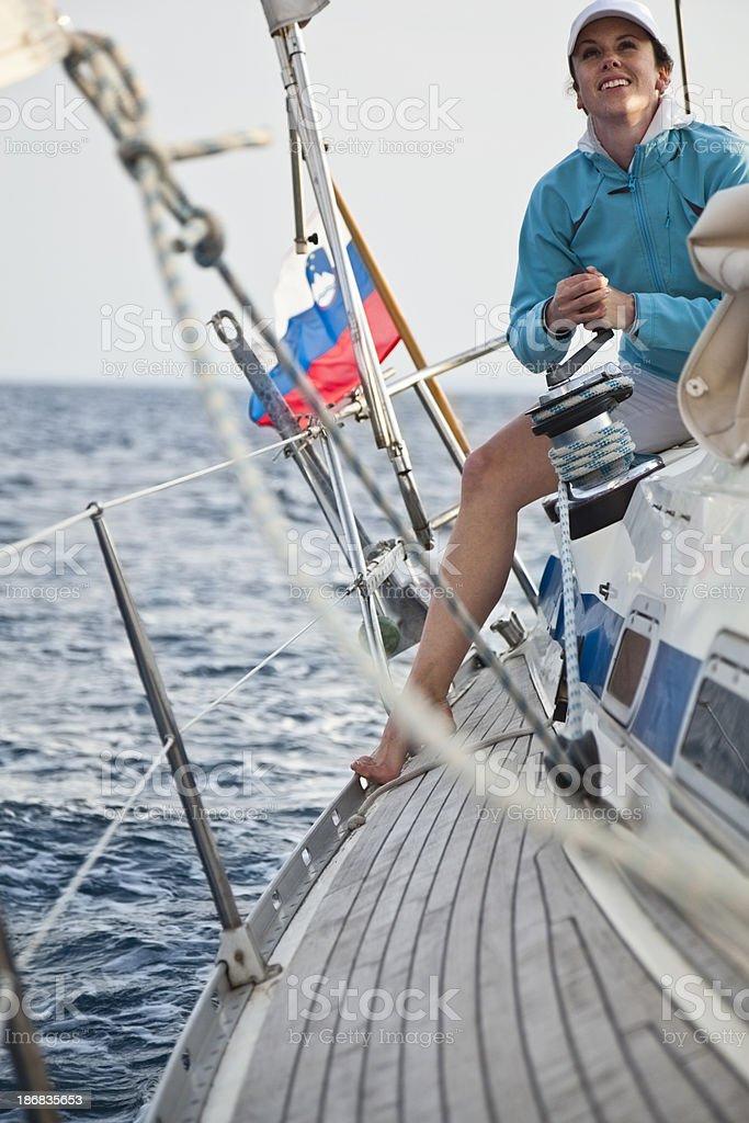 lady sailor stock photo