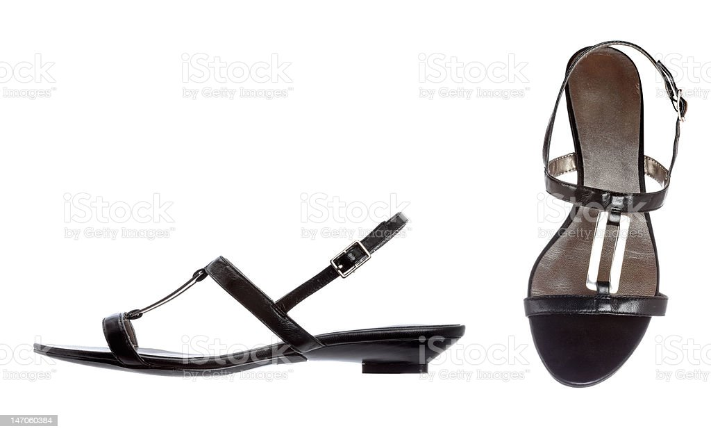 Lady shoes royalty-free stock photo