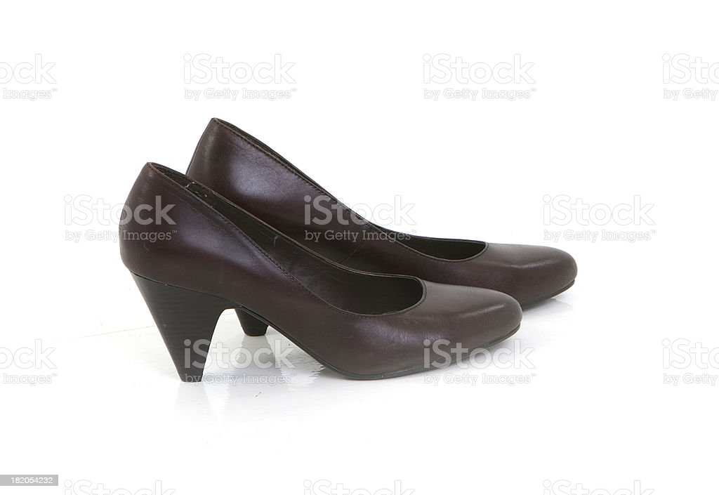 Lady shoes. royalty-free stock photo
