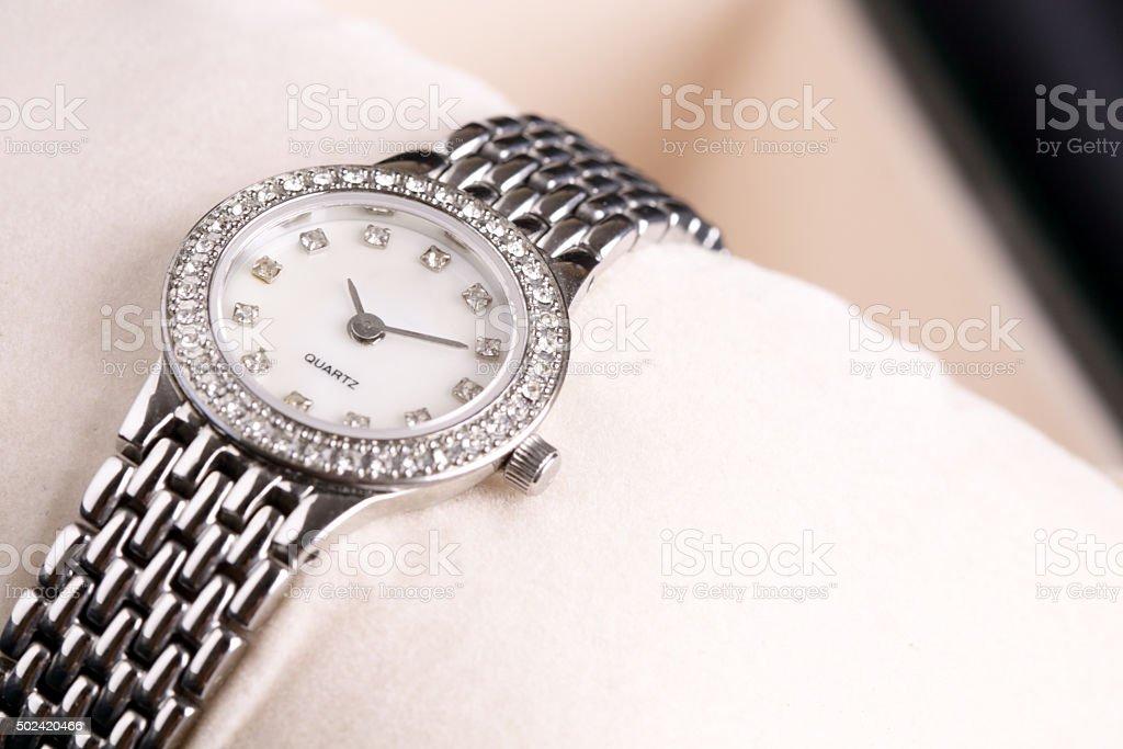 Lady Watch stock photo