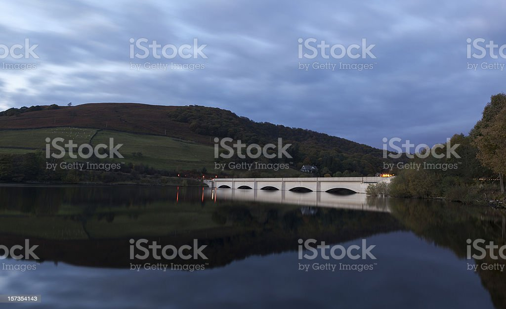 ladybower bridge Peak district royalty-free stock photo