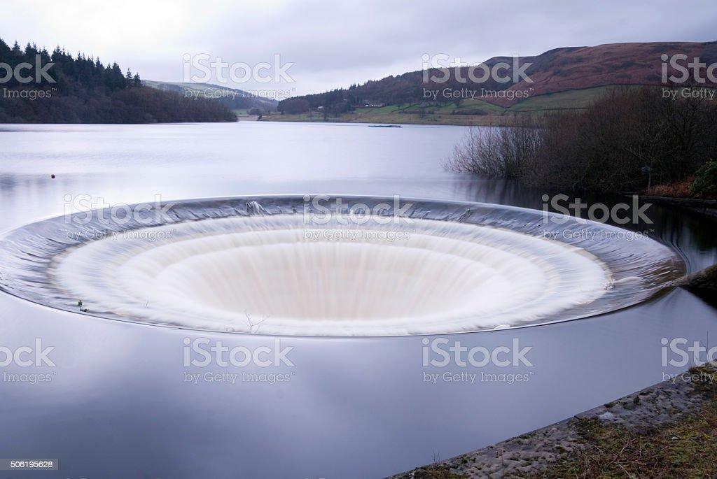 Ladybower Reservoir, Peak District, UK stock photo