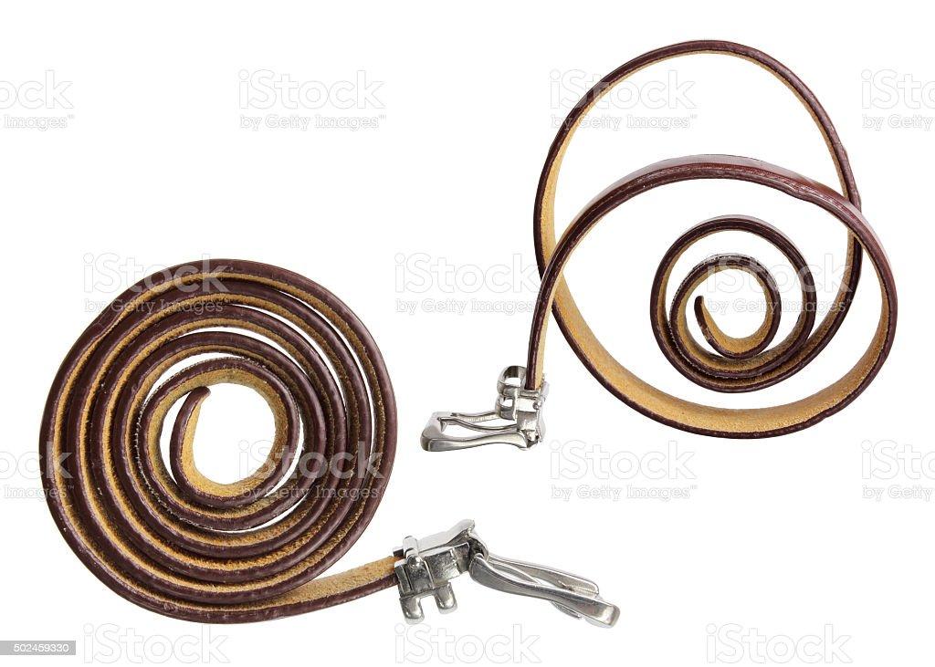 Lady's Belts stock photo