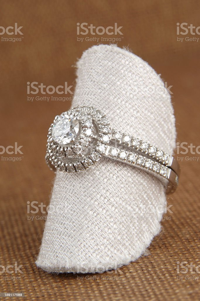 Lady's ring royalty-free stock photo
