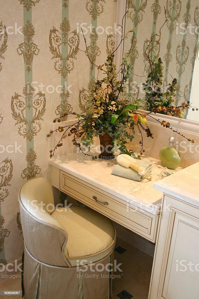 Lady's Vanity royalty-free stock photo