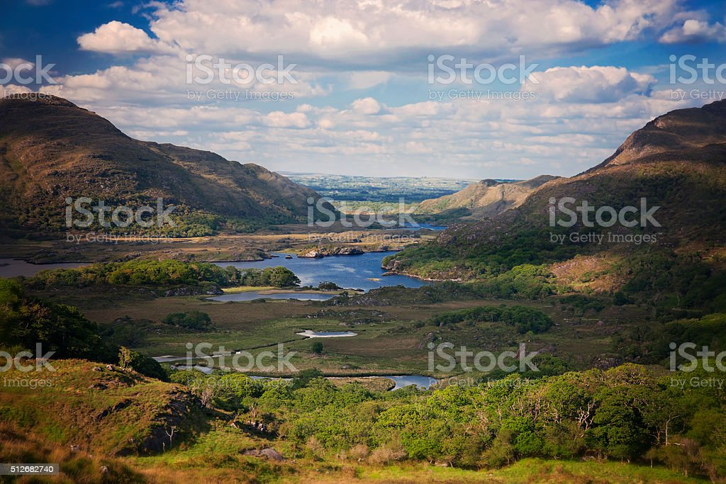 Lady'sVIew, RIng of Kerry, Ireland stock photo