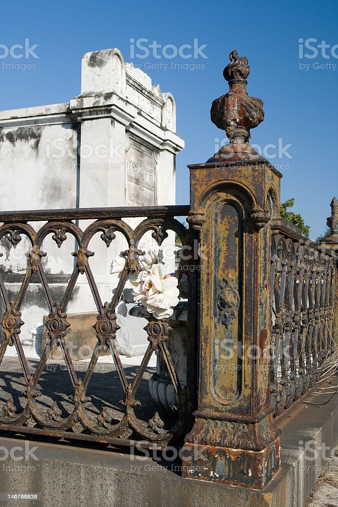 Lafayette Cemetery, New Orleans royalty-free stock photo