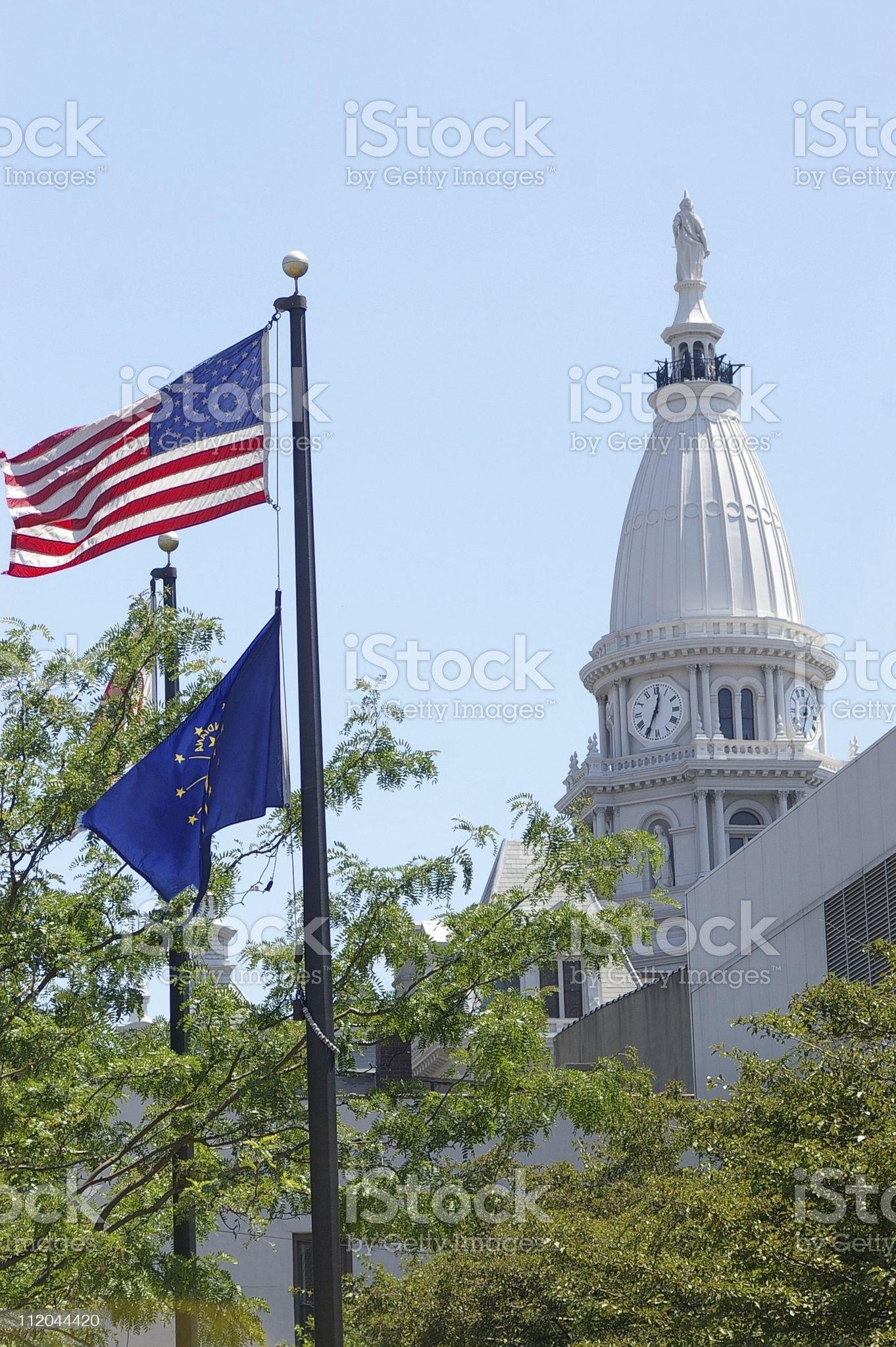 Lafayette Courthouse 5 royalty-free stock photo