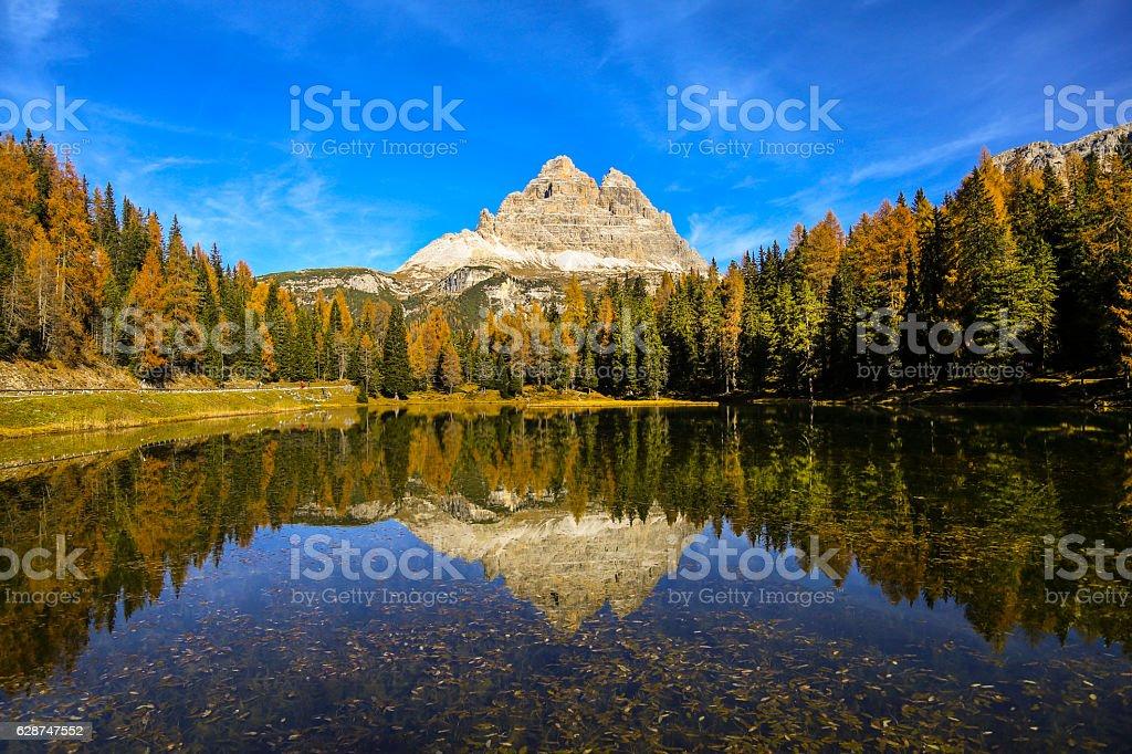 Lago Antorno stock photo