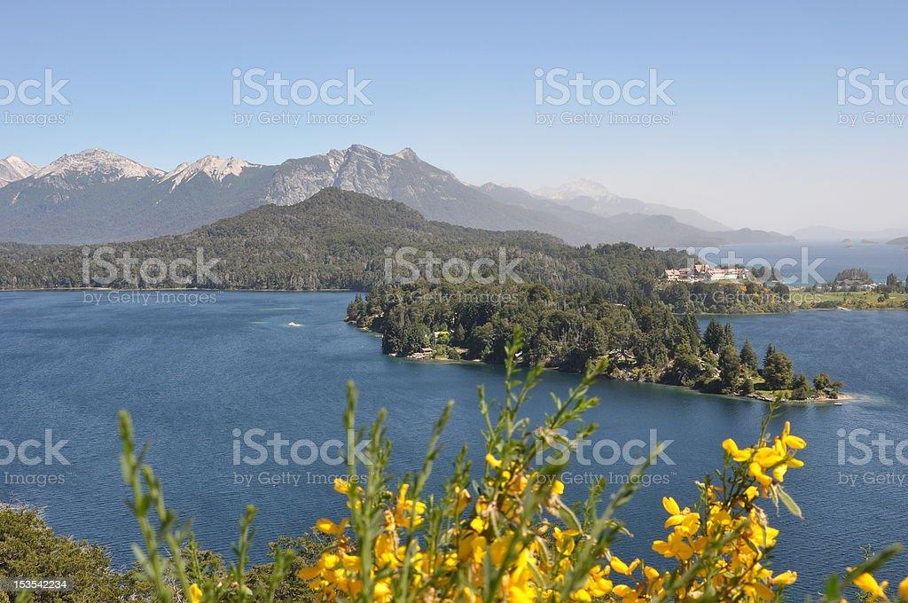 Lago de Patagonia royalty-free stock photo