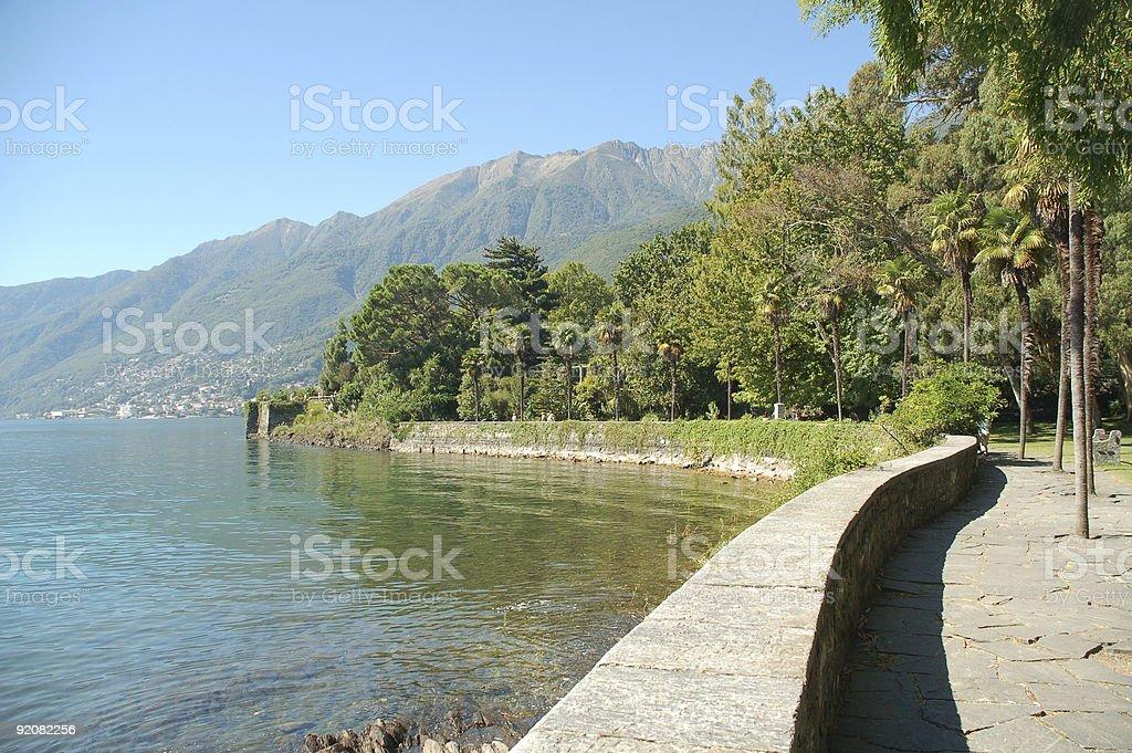 Lago Maggiore royalty-free stock photo