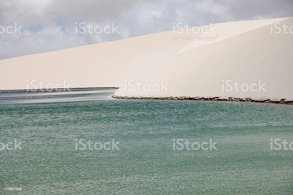 Lagoa Bonito stock photo