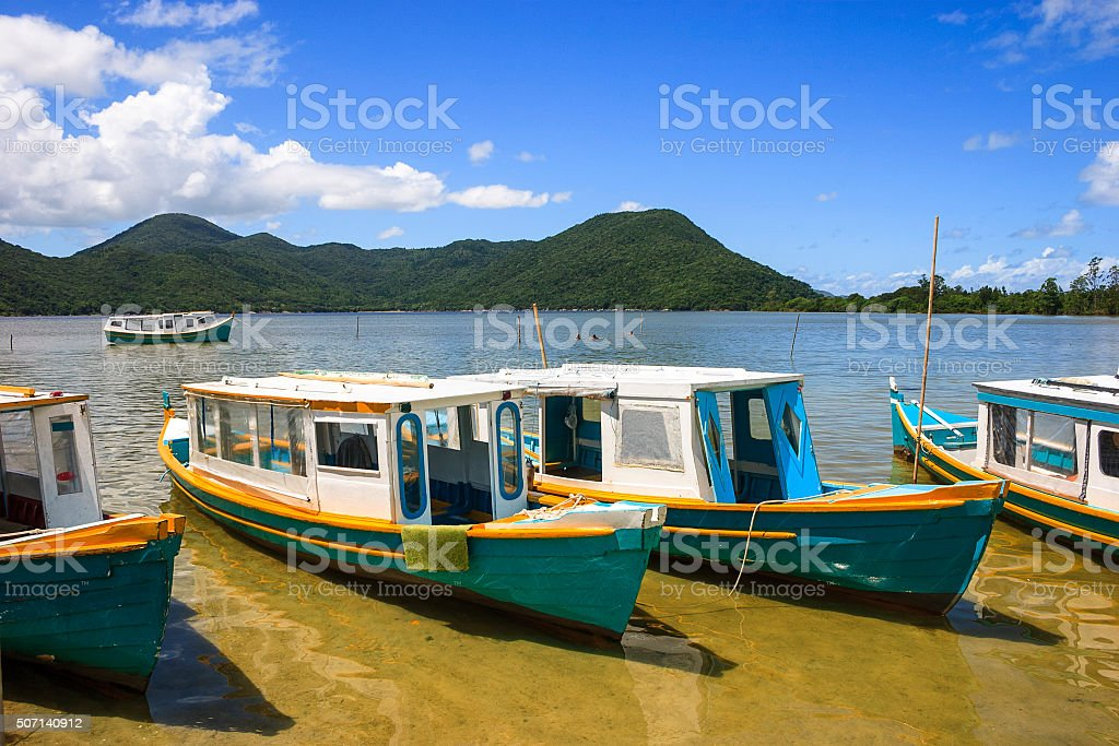 Costa da Lagoa at Florianopolis, Santa Catarina - Brazil stock photo