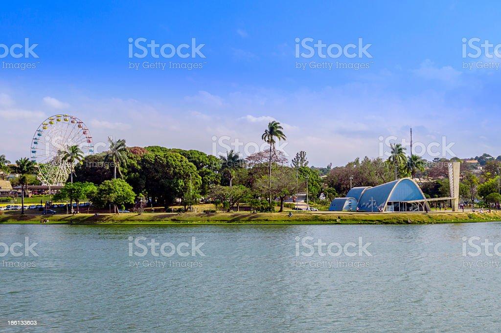 Lagoa da Pampulha - Belo Horizonte stock photo