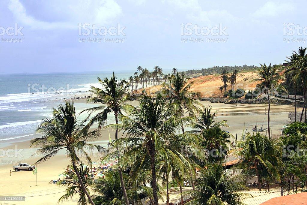 Lagoinha Beach stock photo