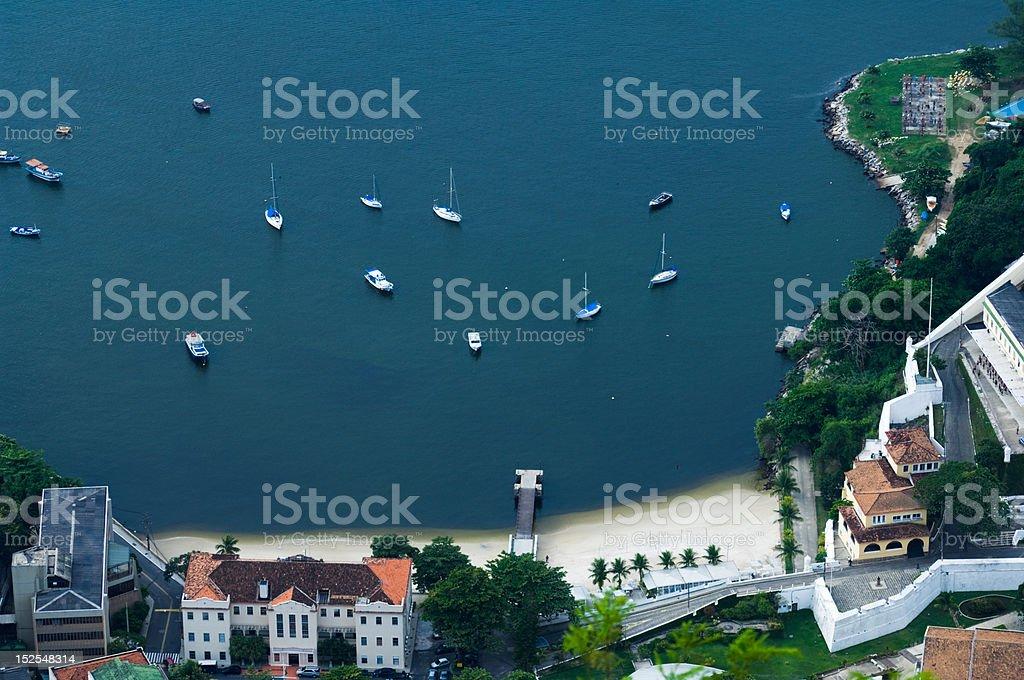 Lagoinha - Urca, Rio De Janeiro stock photo