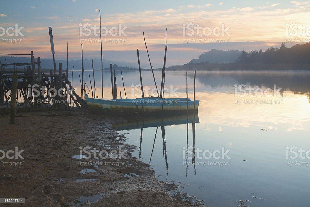 Lagoon at Dawn royalty-free stock photo