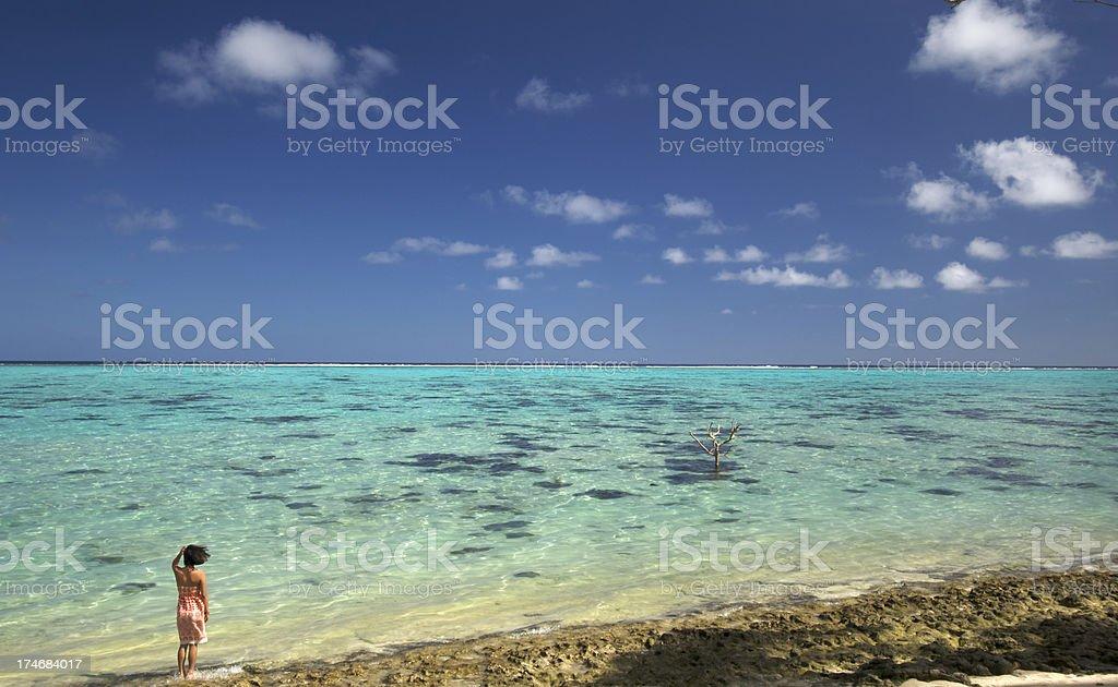 Lagoon Breeze stock photo