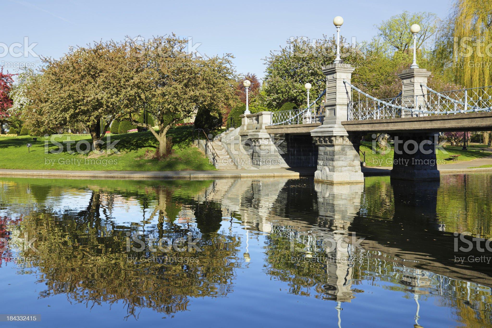 Lagoon Bridge royalty-free stock photo