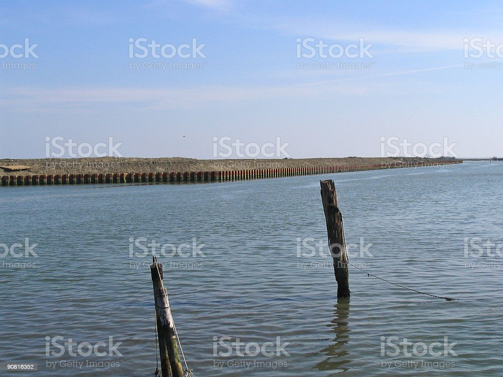 Lagoon n°3 royalty-free stock photo