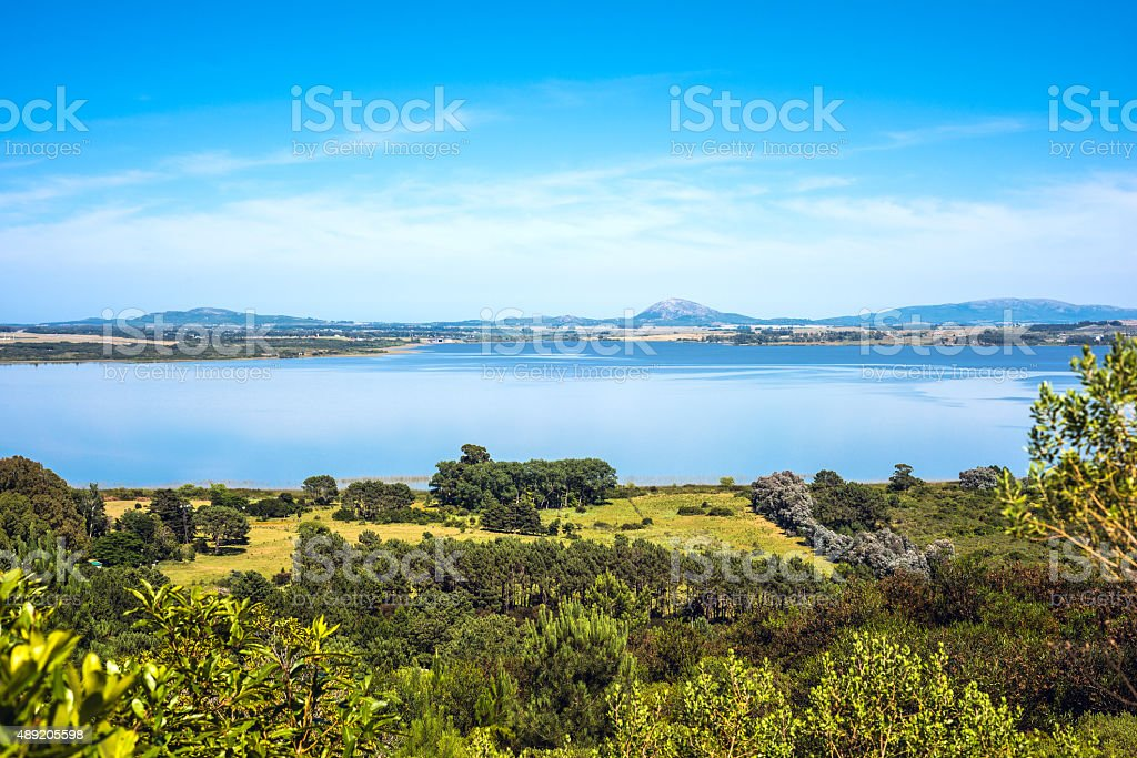 Lagoon of the Willow (Laguna del Sauce), Maldonado, Uruguay stock photo