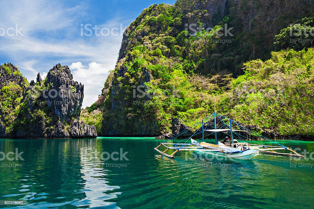 Lagoon stock photo