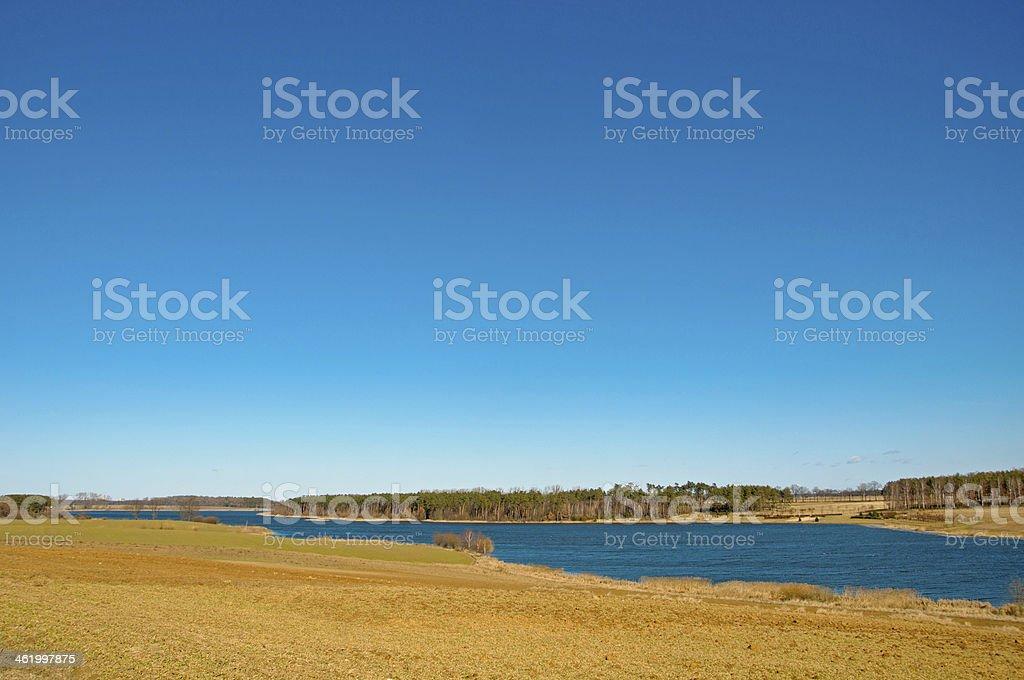 Lagoon Radzyny stock photo