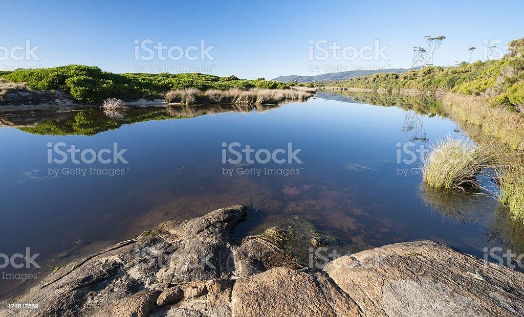 Lagoons Beach royalty-free stock photo