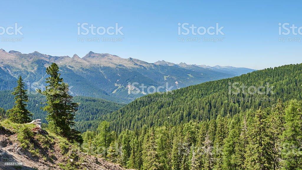 Lagorai Mountain Range stock photo