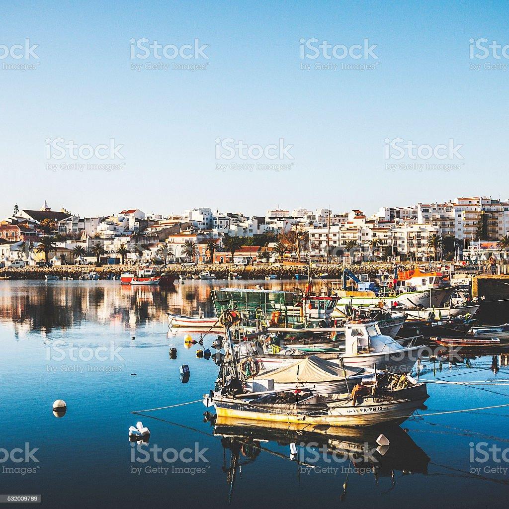 Lagos, Algarve. stock photo