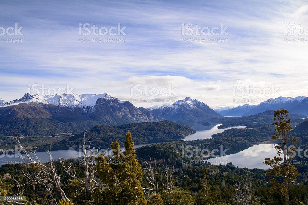 Lagos de Patagonia stock photo
